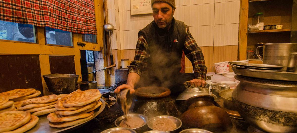 It's harissa time again: Savour the traditional winter delicacy that warms up cold Kashmiri mornings