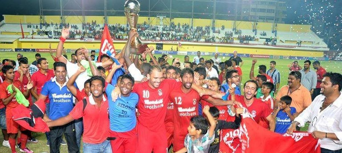 Indian football: AIFF bring Churchill Brothers back in I-League fold