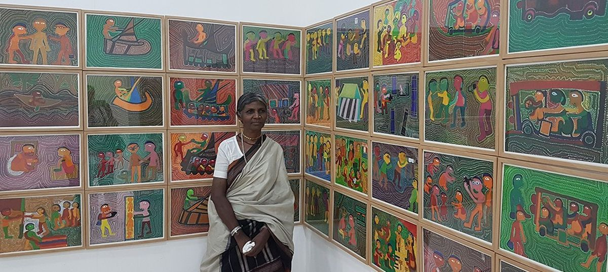 In the sculptures of these two artists, you can see the burning tragedy of Bastar