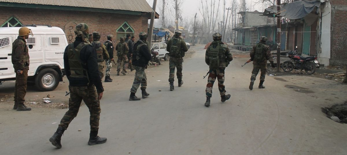 Image result for Kashmir: Three Lashkar militants killed in an encounter