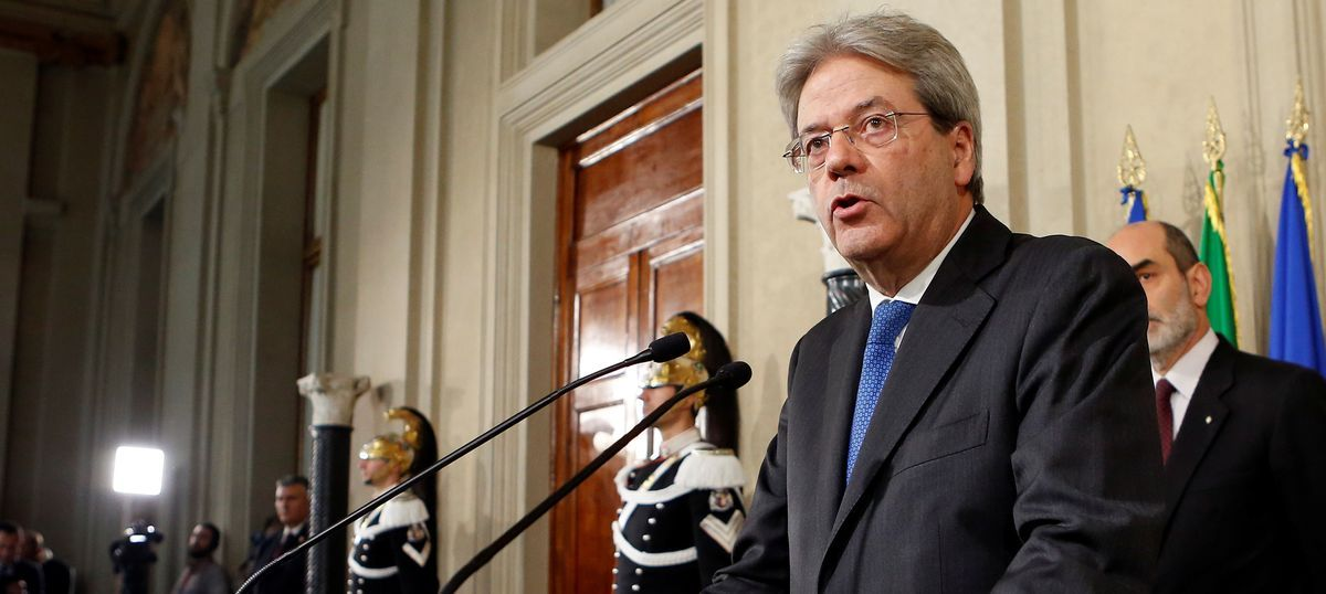 Italy: Paolo Gentiloni named the country's new prime minister