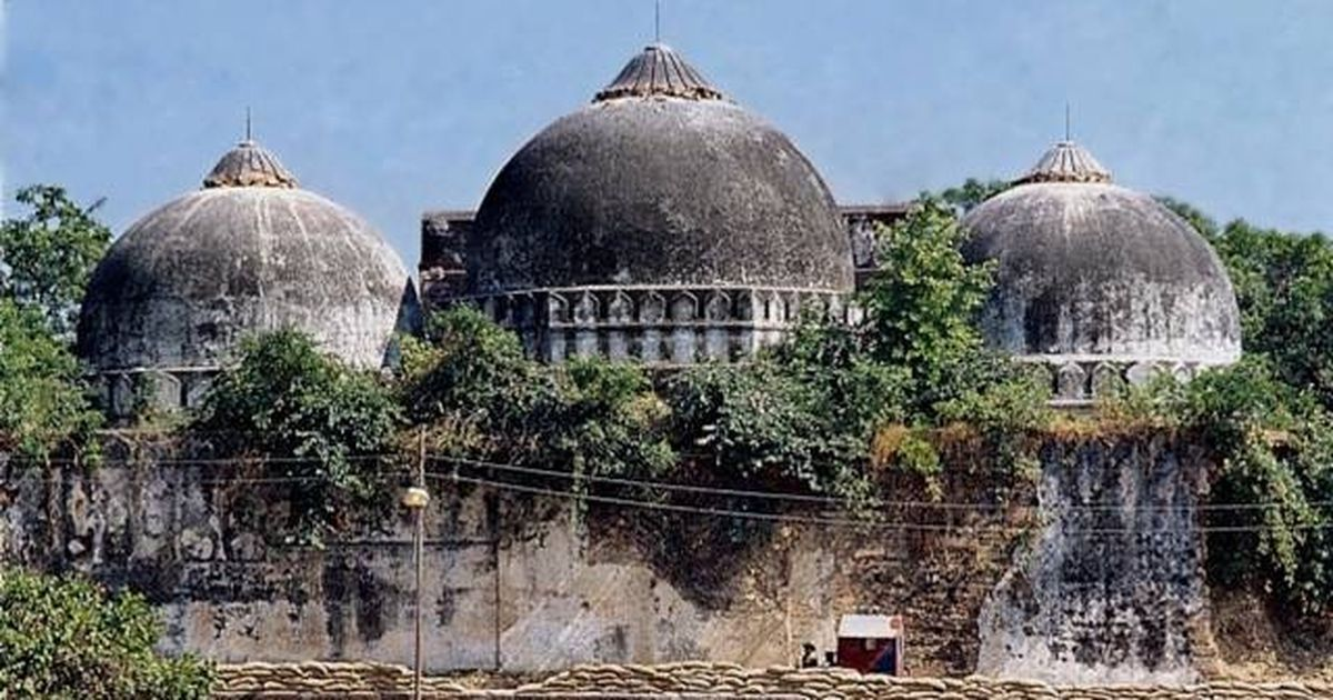 "ayodhya and babri masjid Hindu religious bodies on friday told the supreme court that the ram mandir-babri masjid dispute in ayodhya was purely a ""property dispute"" and the issue of political or religious sensitivities cannot be a ground to refer the matter to a larger bench ."