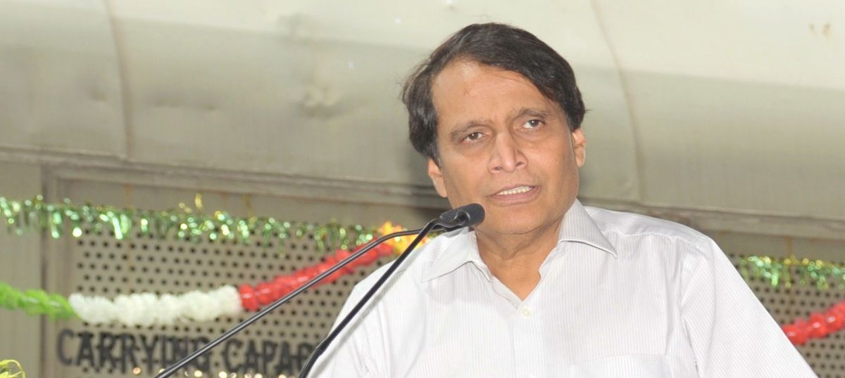 Railway Minister Suresh Prabhu offers to resign after two train derailments
