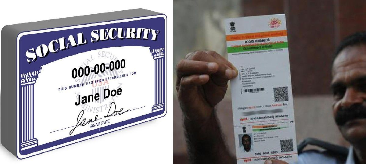Despite the comparisons, India's Aadhaar project is nothing like America's Social Security Number