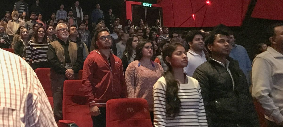 Chennai: Three detained for not standing up for national anthem at film festival