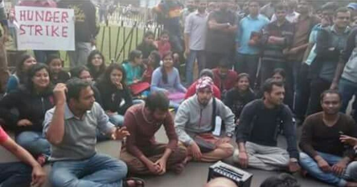 IIT Kharagpur students stage protest over fee hike, director held inside office