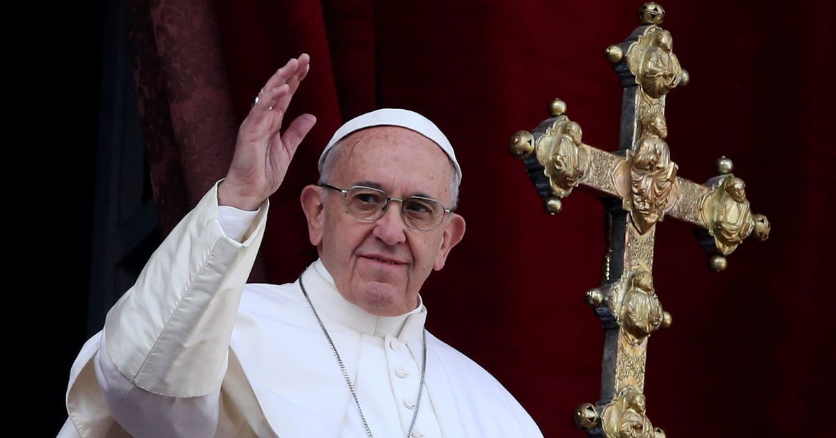 Pope Francis calls for end to Syrian war, Israel-Palestine conflict in Christmas Day address