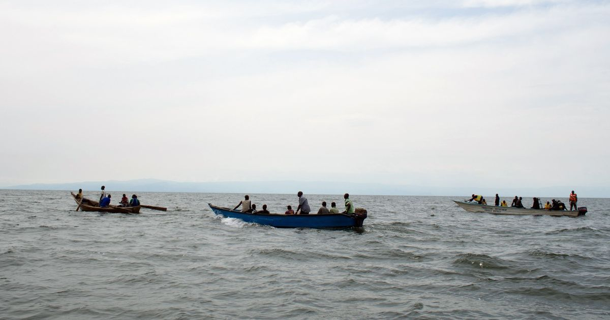 Uganda boat carrying football team and fans capsizes on Lake Albert