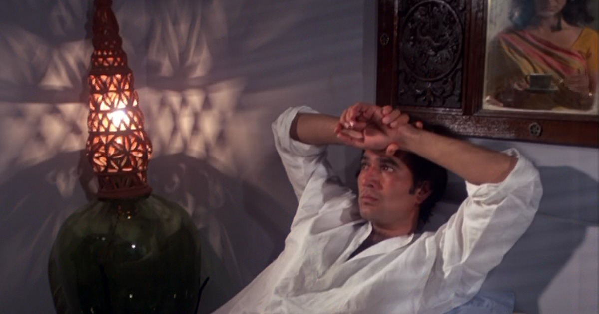 The rediscovery of Rajesh Khanna the actor in 'Aavishkar'