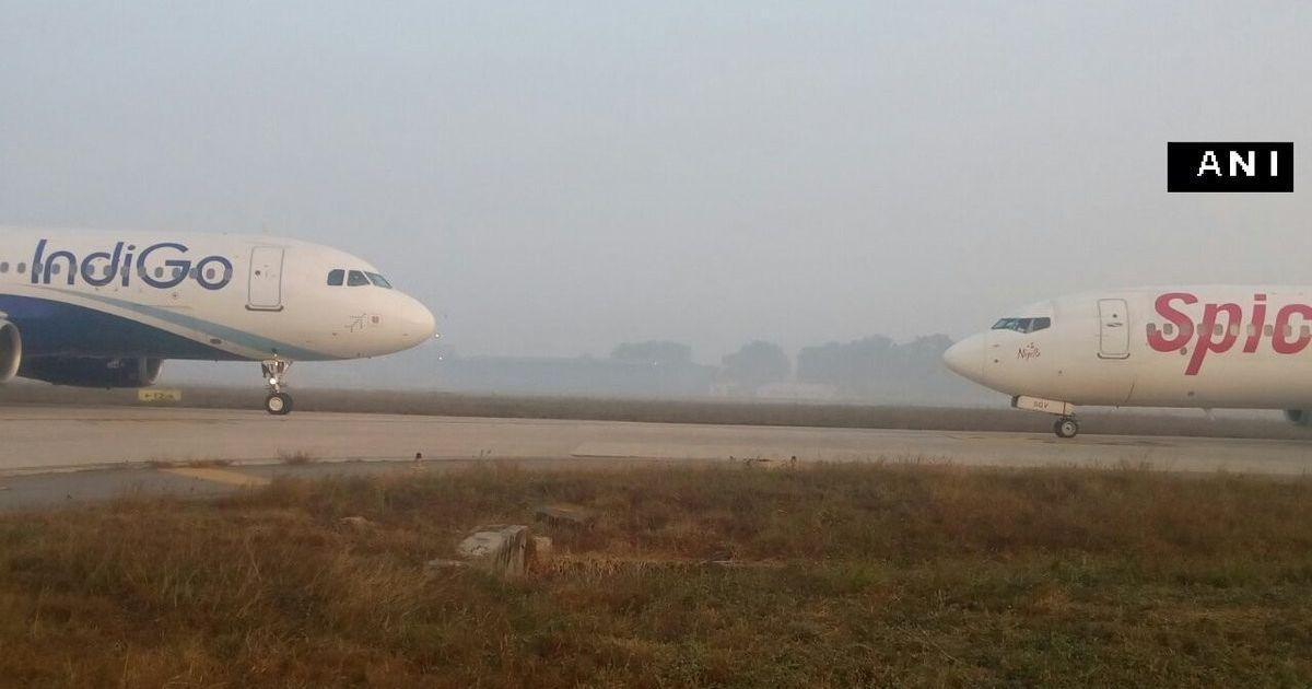 दिल्ली एयरपोर्ट पर दो विमानों की टक्कर टली, गोवा में रनवे पर विमान फिसलने से 15 यात्री घायल