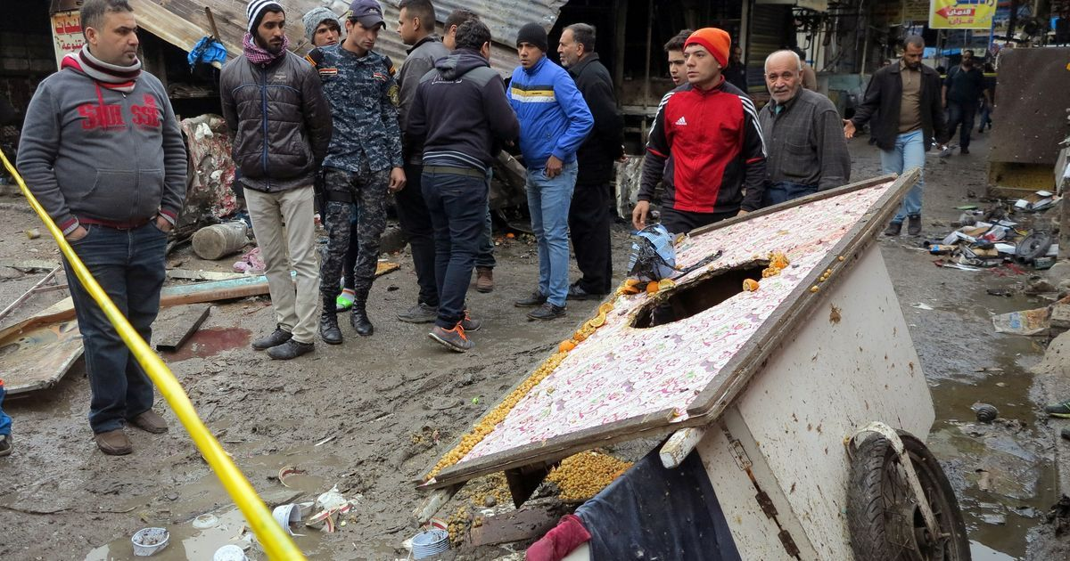 Islamic State claim Baghdad bombings killing at least 27