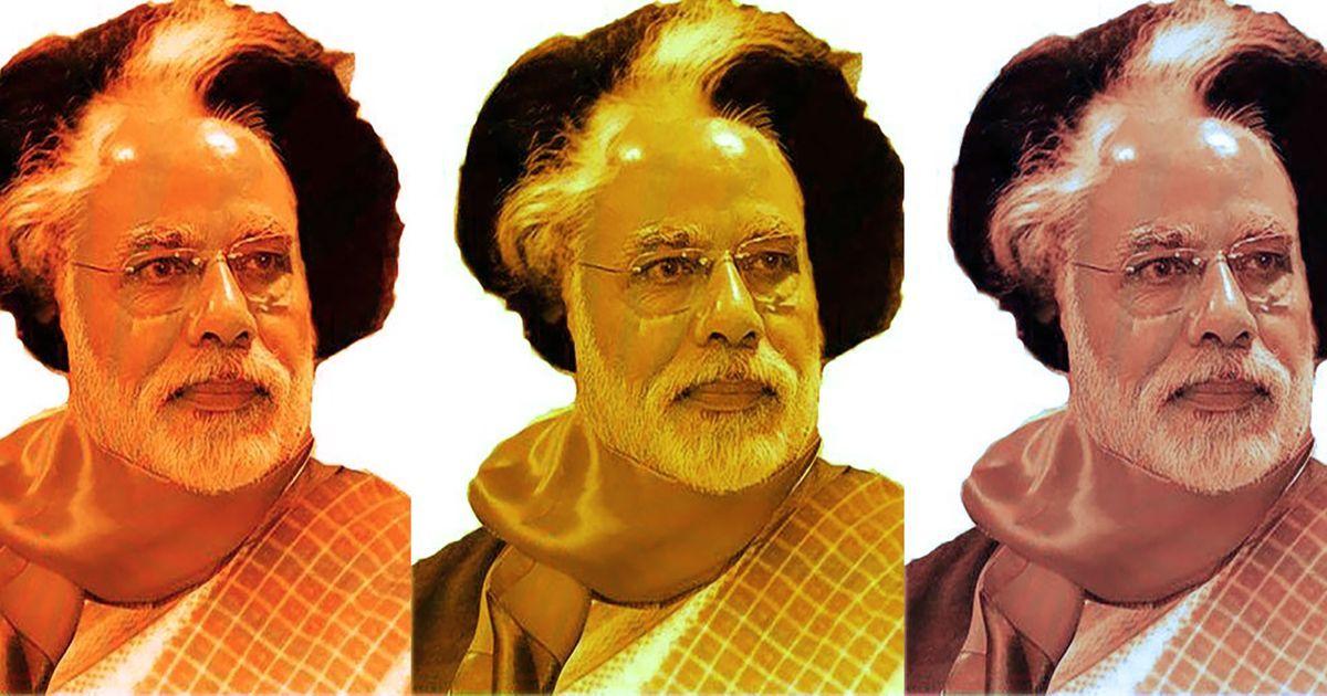 Modi just copy pasted Indira's 'Garibi Hatao' slogan. Does this Freudian slip explain his politics?
