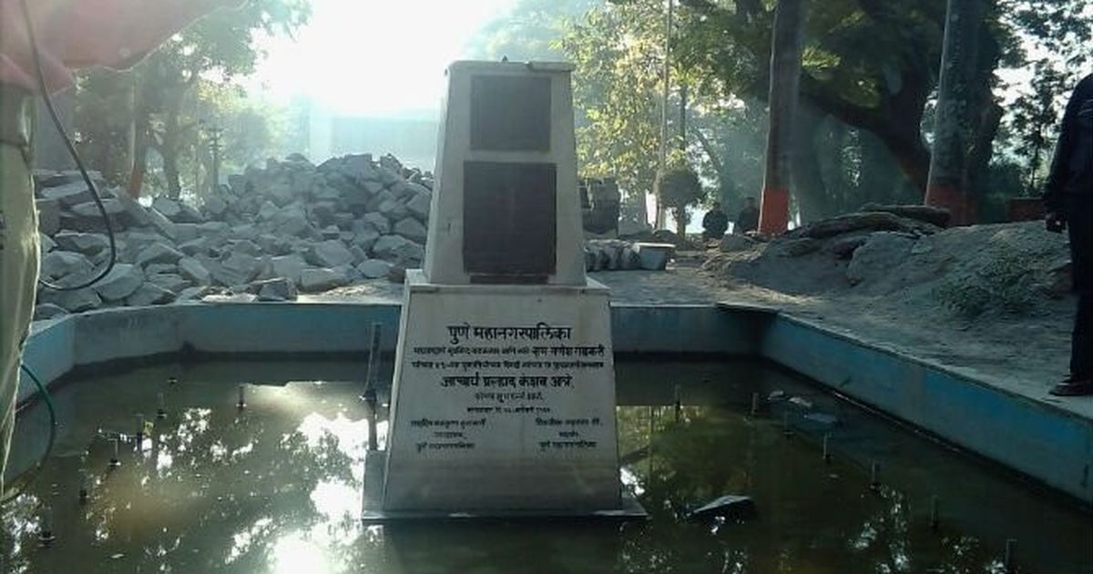 Maratha pride (and votes): Why the statue of a legendary Marathi playwright was vandalised in Pune