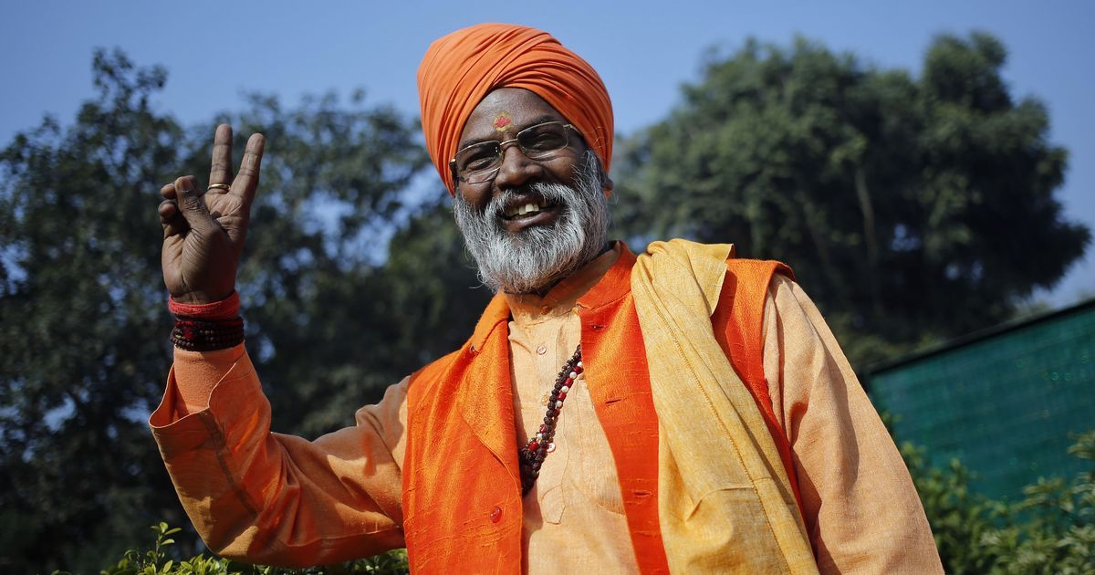 'There's a tsunami called Modi in 2019, there will be no election after that': BJP MP Sakshi Maharaj