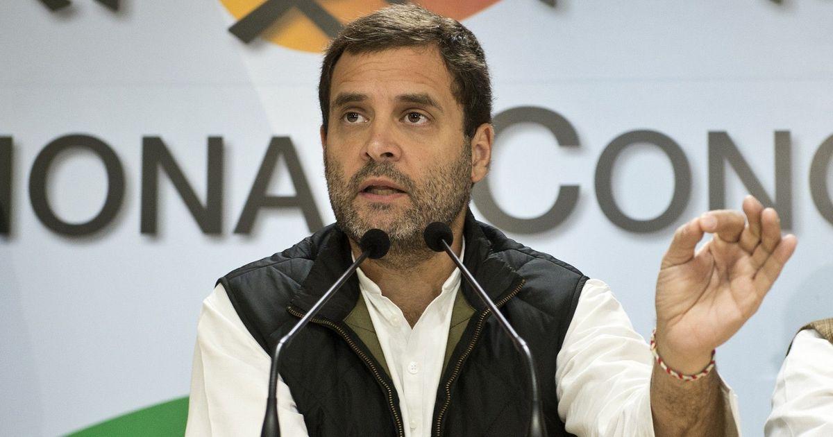 मोदी जी किसानों का कर्ज माफ नहीं कर सकते, उन्हें केवल गोली दे सकते हैं : राहुल गांधी
