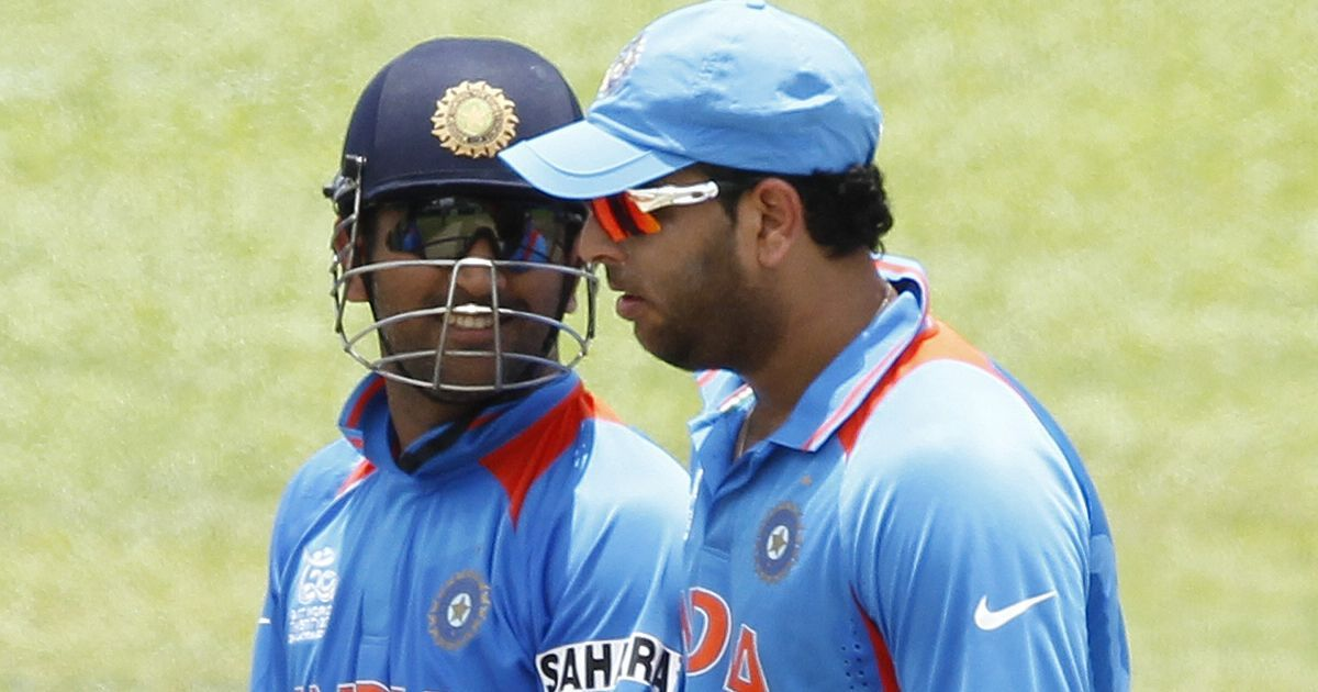 Yuvraj is in the team because Dhoni is no longer the captain: Yograj Singh