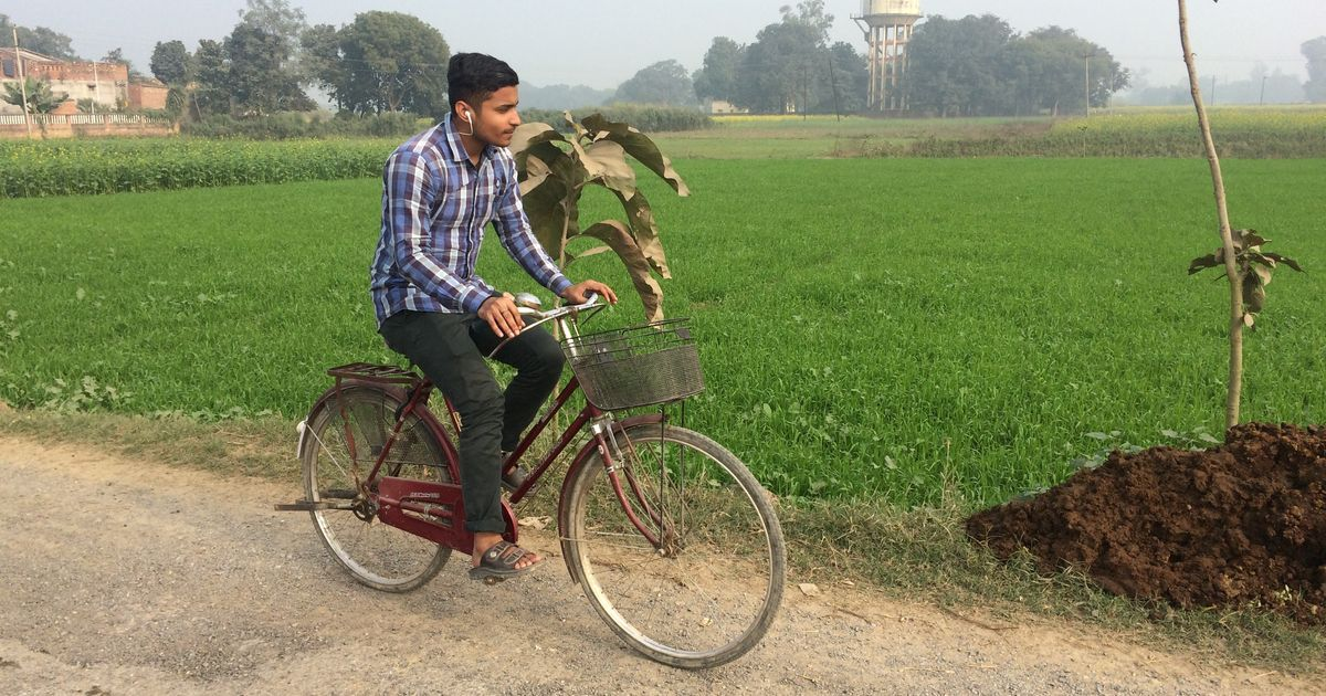 cycle will go motorcycle will come in one up village many yadavs