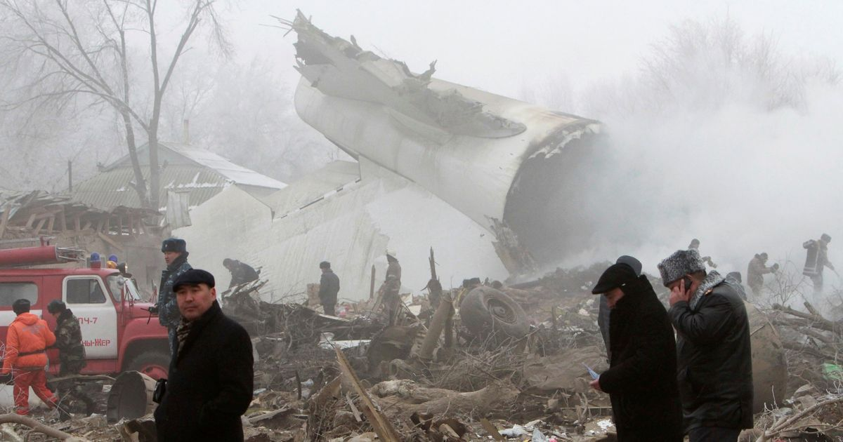 Kyrgyzstan: At least 37 people dead after ACT Airlines cargo plane crashes in residential area