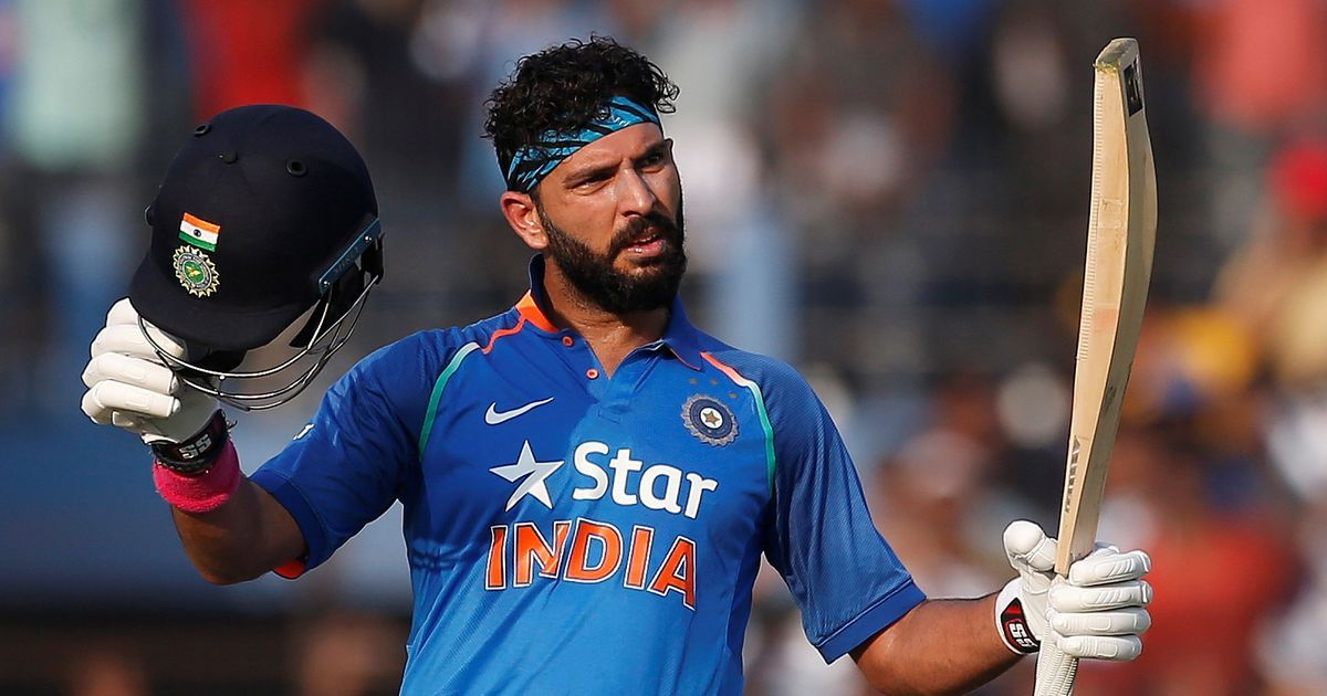 Yuvraj Singh hits career-best 150, MS Dhoni 134, India leave England with a massive chase of 382