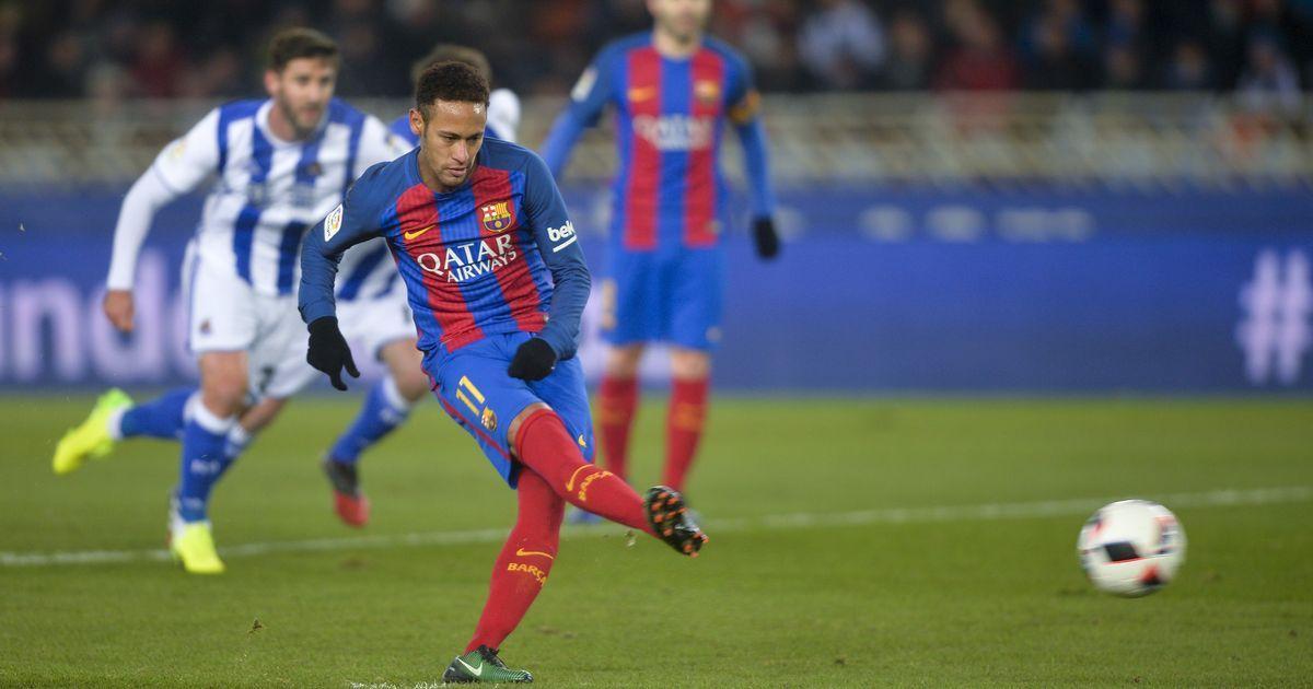 Neymar wins first leg for Barcelona, Atletico cruise in Copa del Rey