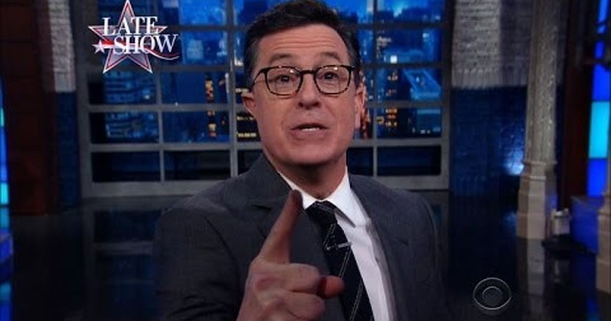 Watch: How Stephen Colbert bid farewell to Barack Obama, and took on Donald  Trump's plans