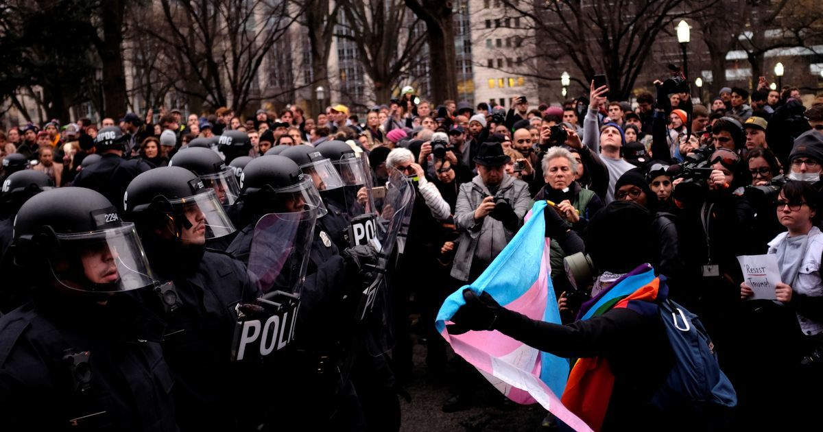 US: Over 200 anti-Donald Trump protestors arrested as violence erupts in Washington DC