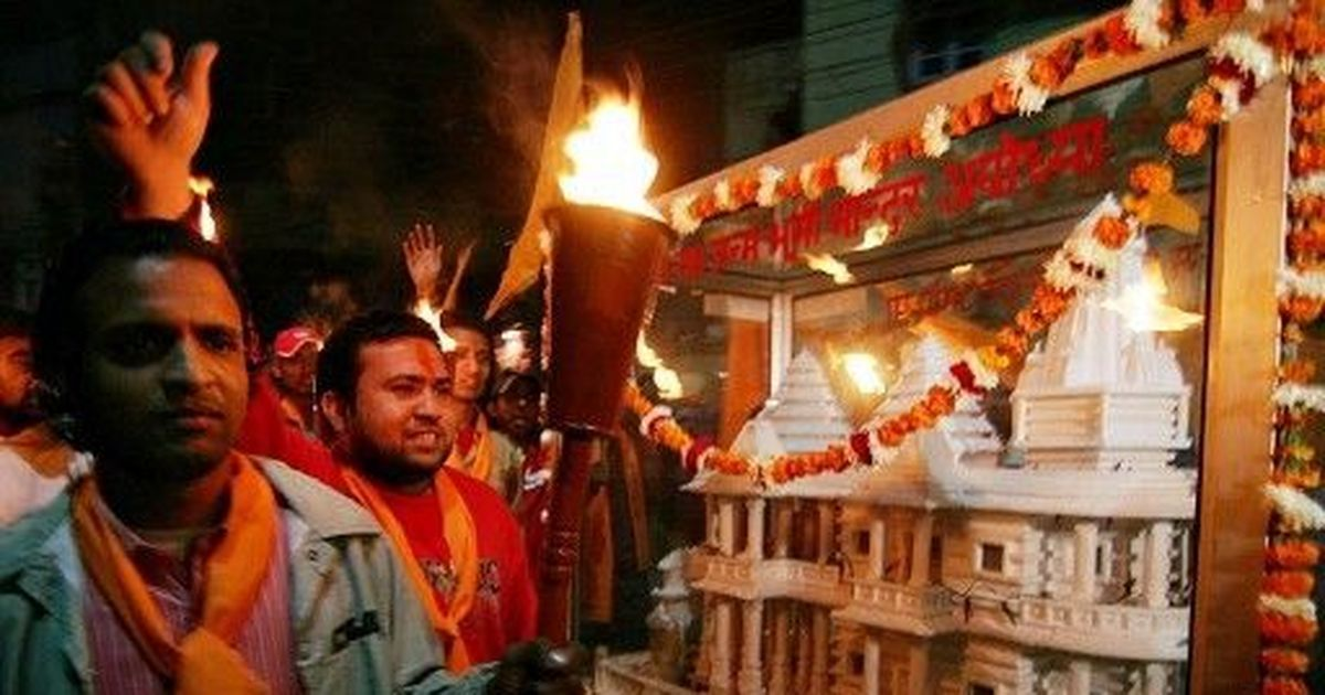 Readers' comments: On Ram temple issue, Sangh Parivar is motivated by politics, not religion