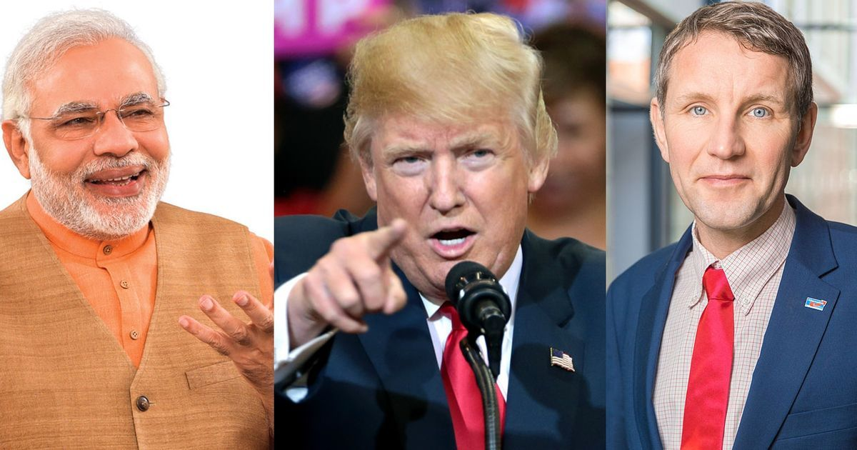 Why is illiberalism on the rise in the great democracies of India, Germany and US?