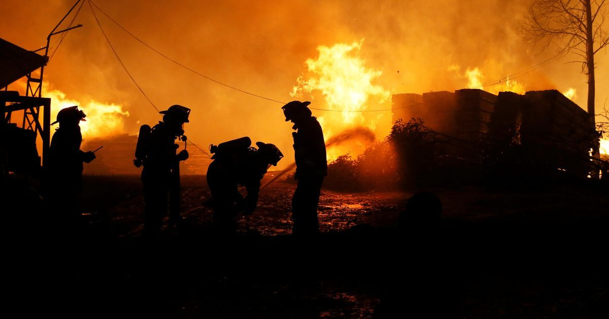 Chile forest fires: Death toll now rises to six