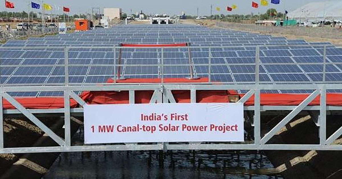 How India's canals could help fast-forward its solar energy plans