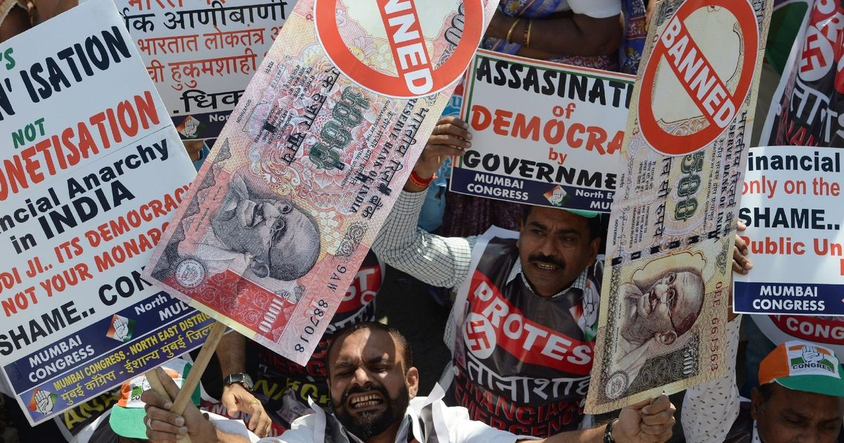 Demonetisation: The chronicle of a failure foretold
