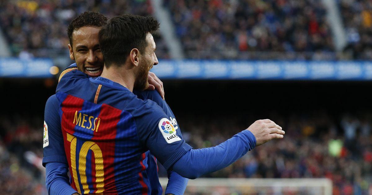 0d5f4771c La Liga round-up  Messi stars as Barcelona thrash Celta Vigo 5-0 to top  table
