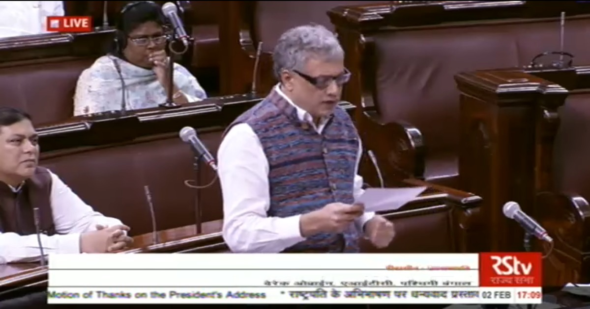 'Are we delivering pizzas': Derek O'Brien questions hurried passage of bills in Parliament