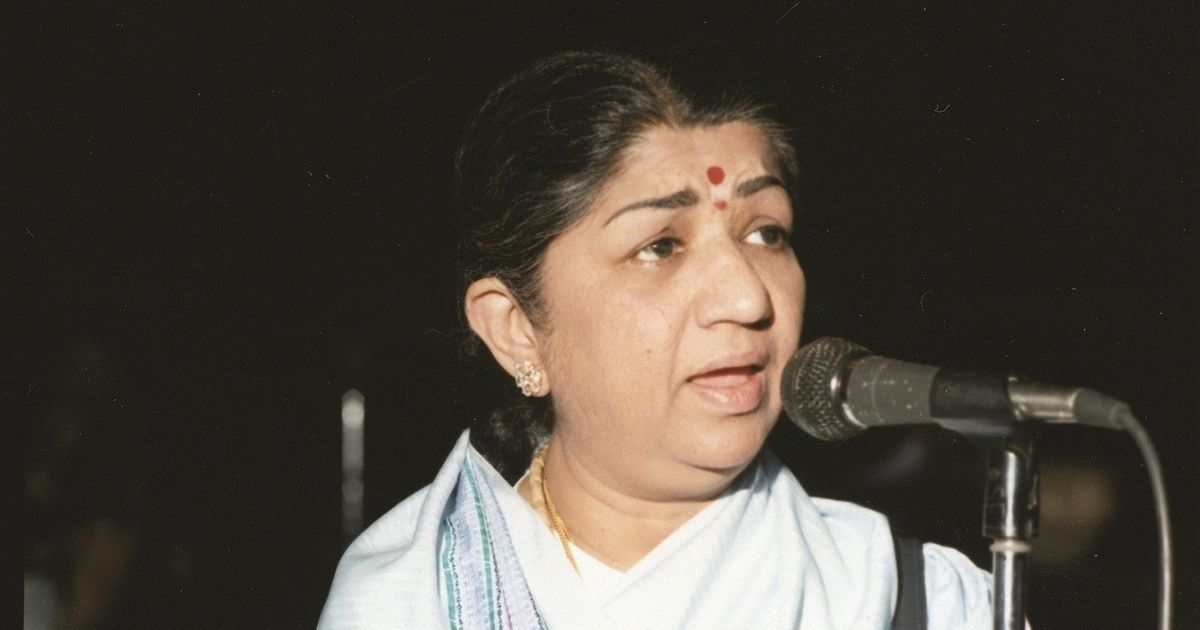 Los Angeles, 1975. Lata Mangeshkar takes the stage. Deafening applause