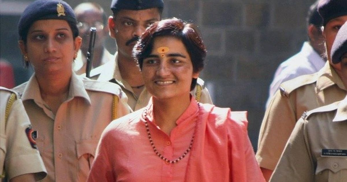 Image result for sadhvi pragya and cow