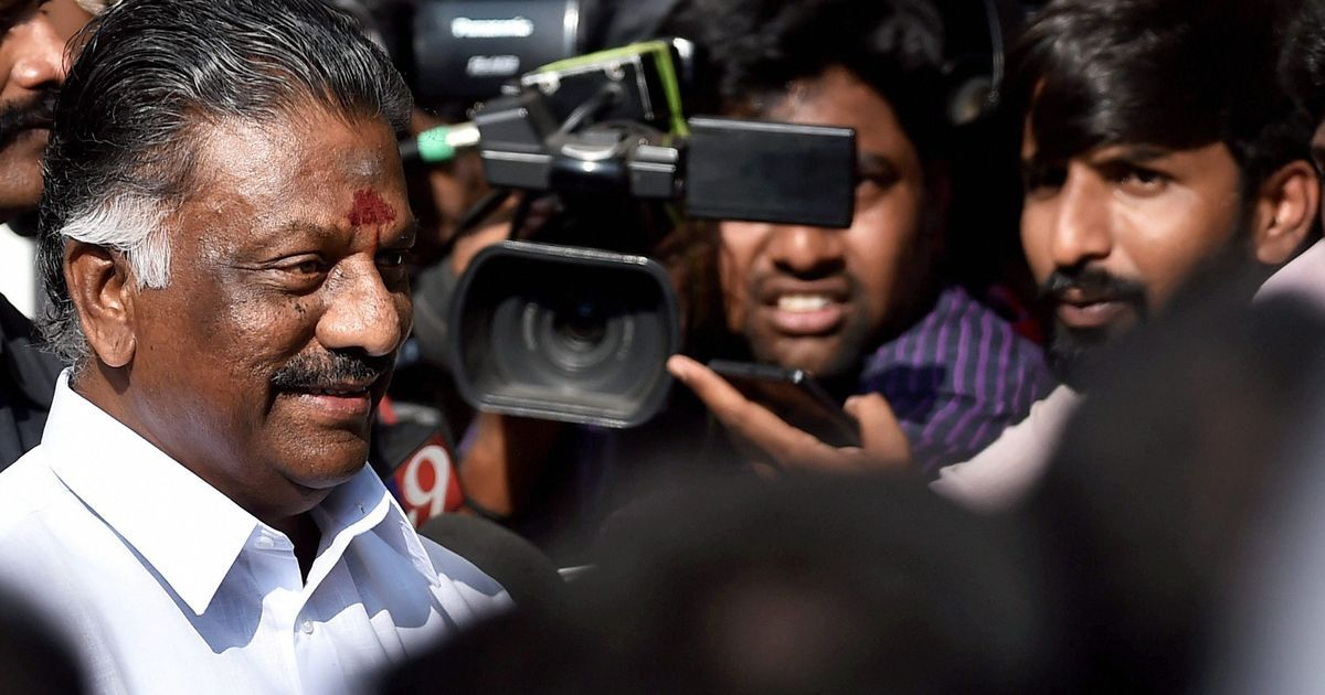 Panneerselvam revolts, says was forced to resign