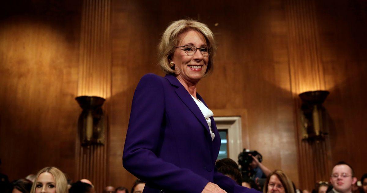 After Devos Vote Fight For Public >> Us Senate Confirms Betsy Devos As Education Secretary After Mike