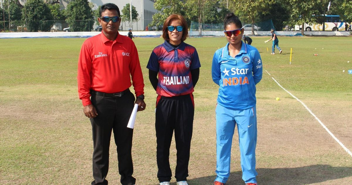 India thrash Thailand by nine wickets in Women's World Cup qualifiers