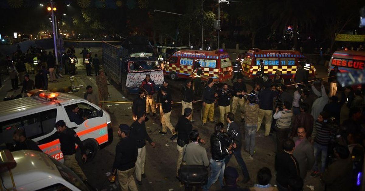 पाकिस्तान : नवाज शरीफ के घर के पास आत्मघाती हमला, नौ की मौत