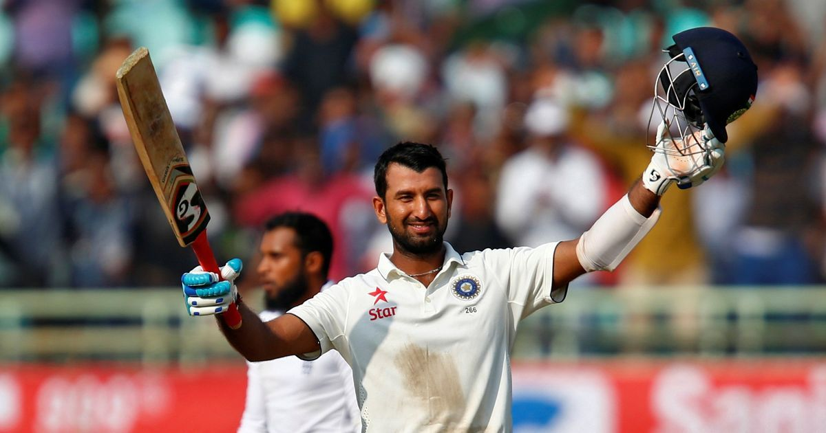 Image result for pujara in test
