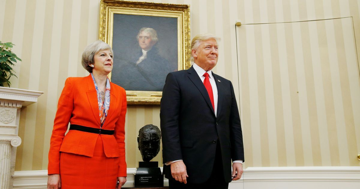 May Rejects Petition Against Donald Trump'S Uk Visit