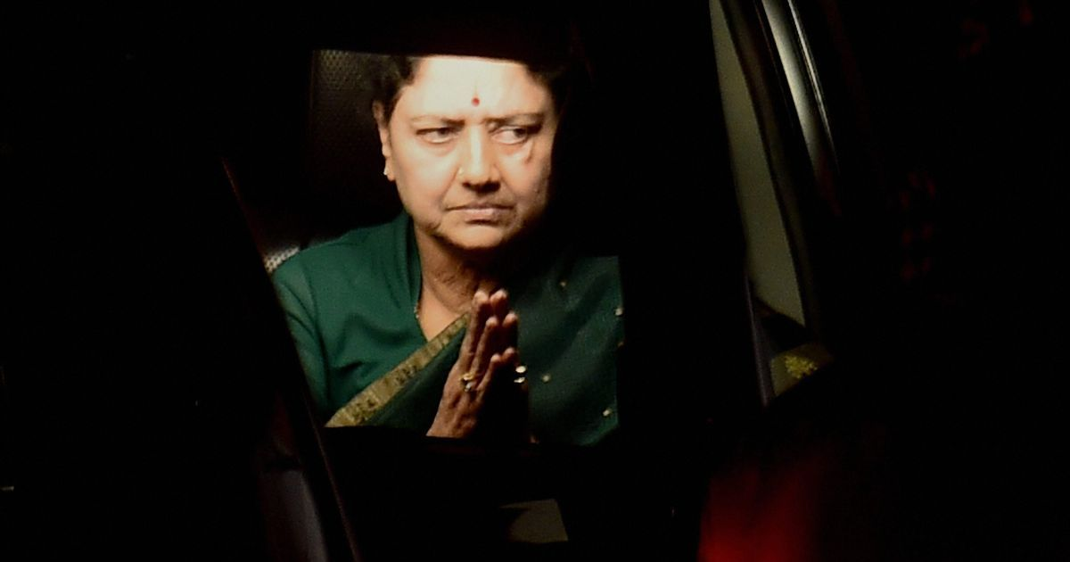 What is Sasikala doing in Bengaluru jail?