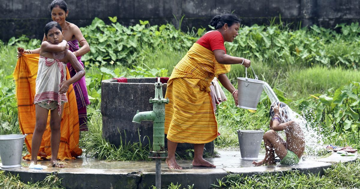 Why just toilets? There must be a focus on building private bathing spaces for women in villages