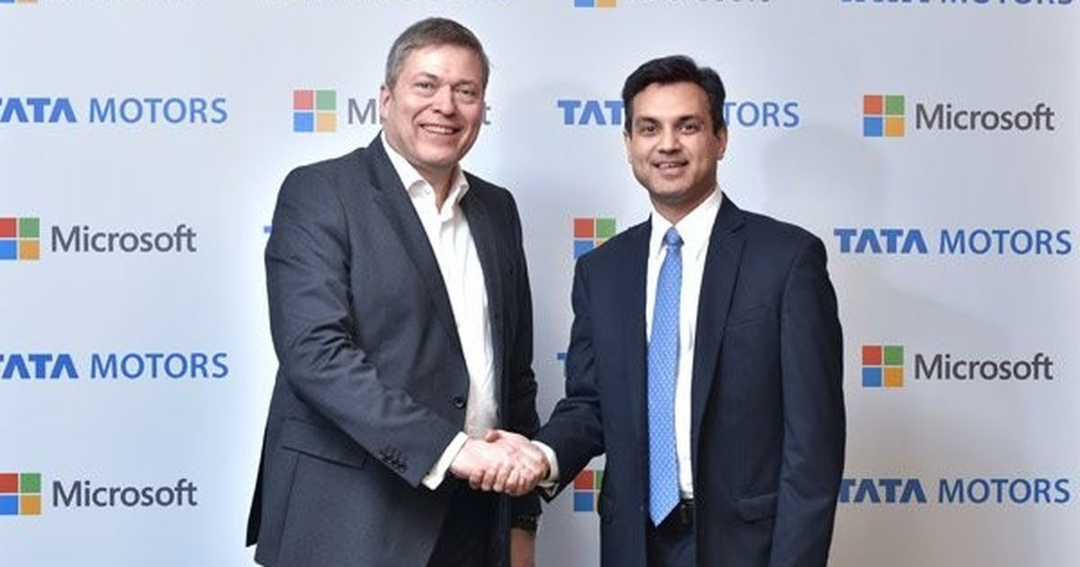 Tata Motors, Microsoft India tie up to launch the country's 'first connected car'