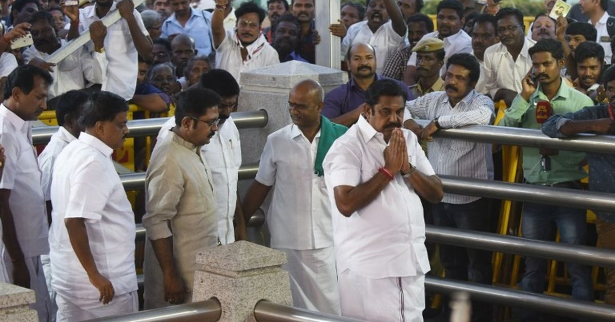 Former AIADMK presidium chief removes Palaniswami, Sasikala, and her nephew Dinakaran from party