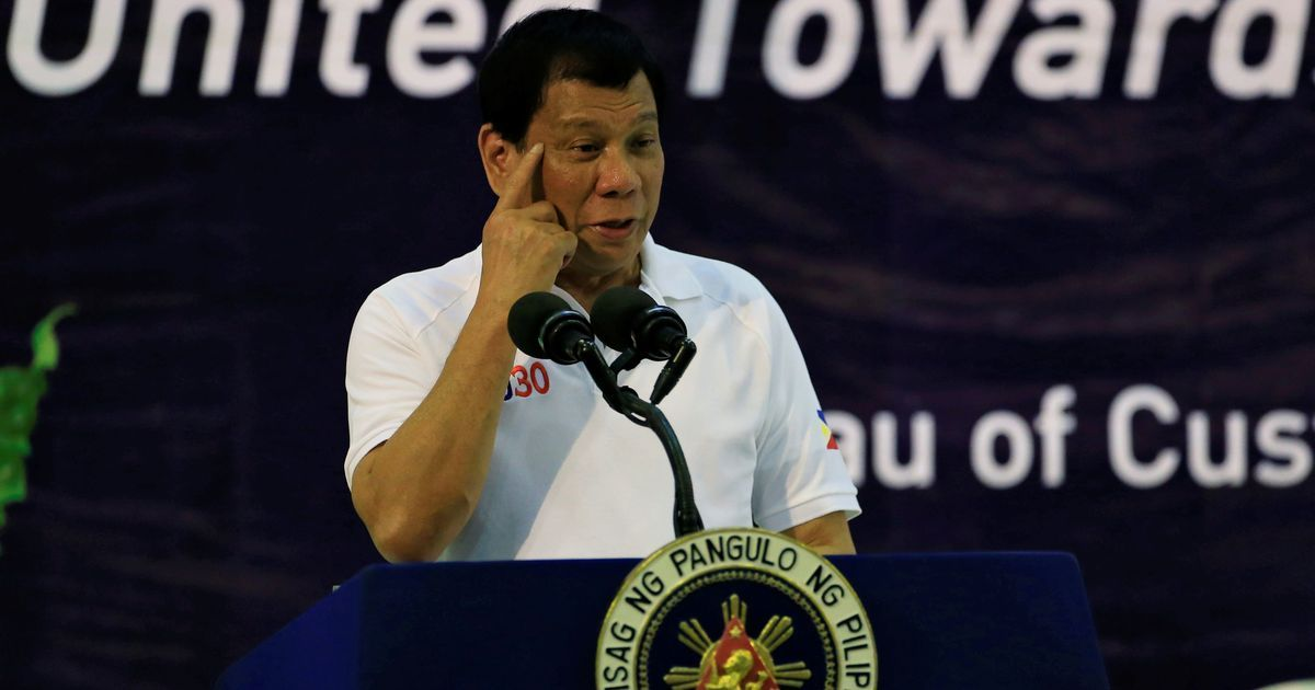 Philippines: Senator accuses President Duterte of stashing $40 million in bank accounts