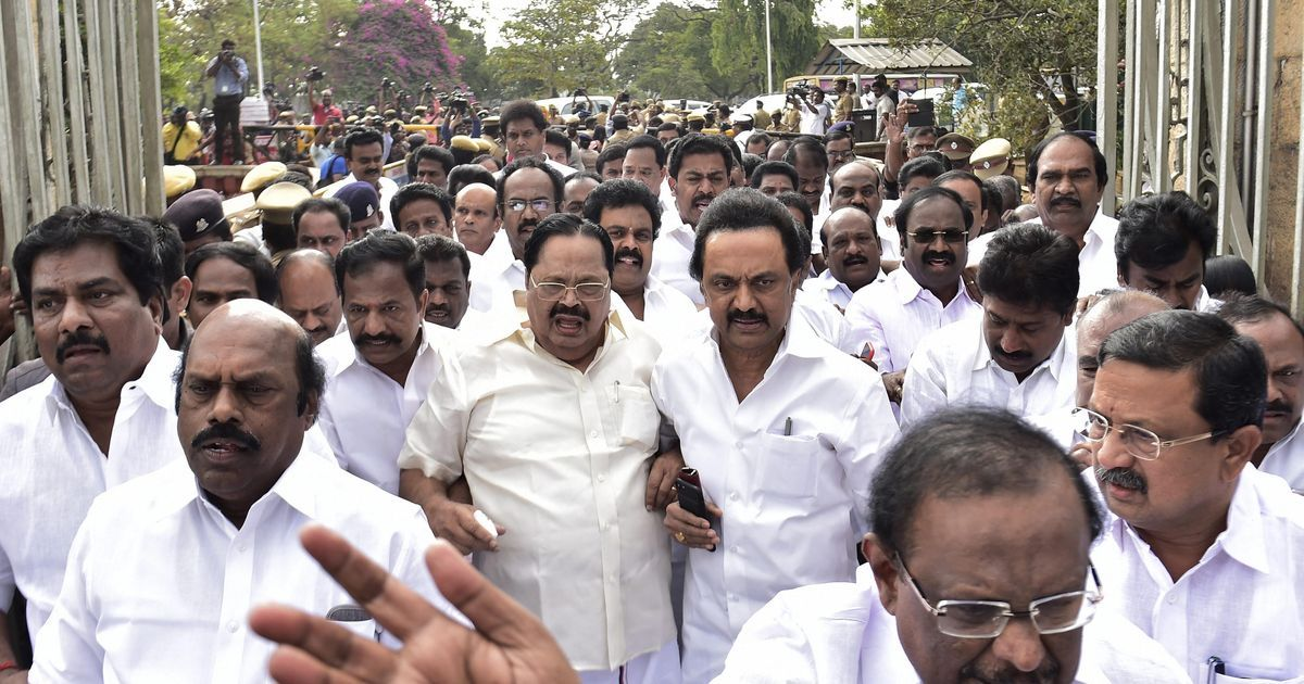 DMK on Hunger Strike Ahead of Madras HC Ruling on Trust Vote
