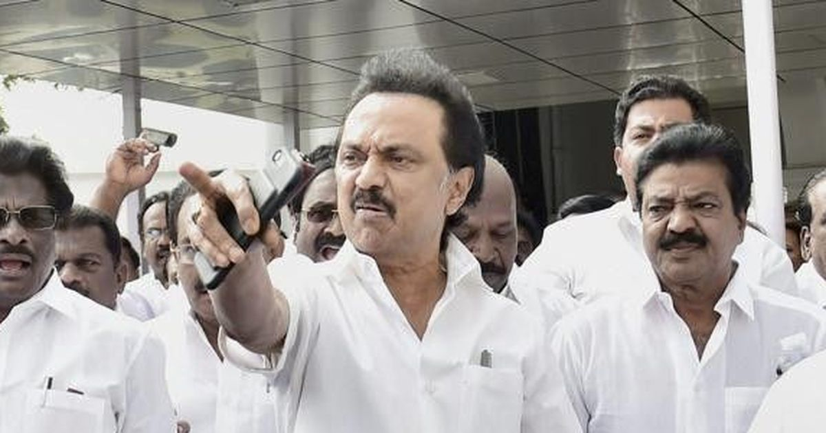 DMK Working Prez MK Stalin Arrested on Way to Salem