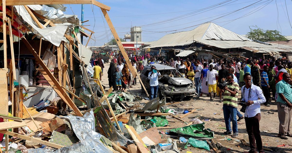 Somalia: Deadly vehicle bomb rocks Mogadishu market
