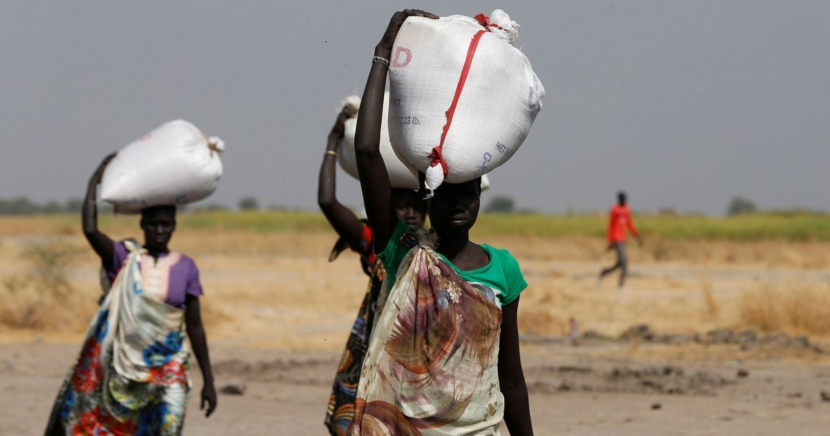 Famine declared in South Sudan, with 100000 people facing starvation